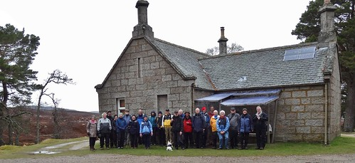 All the walking group at Gelder Shiel