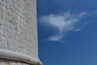 Minčeta Tower and Cloud