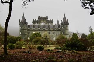 Inverary Castle, Scotland.