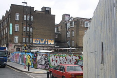 Edwin (lazy south's travels) Tags: hackney london england english britain british uk building architecture urban graffiti streetart road street scene