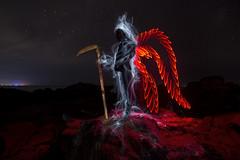 Mr Death (uruguay peñarol) Tags: red death