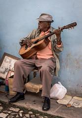 Trinidad, Cuba - Musician @Old Town (GlobeTrotter 2000) Tags: cuba sancti spiritus trinidad musician singer travel carraibean street old town portrait daily life
