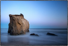 El Matador Beach, Malibu. (drpeterrath) Tags: canon eos5dsr 5dsr malibu beach ocean longexposure waces sunset dusk seascape landscape rocks blue sky travel outdoor nature losangeles california