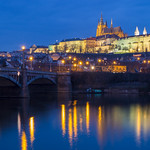 Prague Castle across Vltava River thumbnail