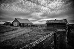 Vacated - B+W Edit (PNW-Photography) Tags: decay rust rusty dust dusty abandoned lost found explore explored urbex rural farm farming farmhouse house home homestead washington sonya6000 sony a6000 rokinon rokinon12mm 12mm kahlotus pasco palouse