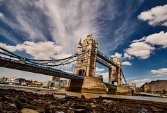 London (Carlos Lubina) Tags: london towerbridge thames landscape himmel wolken clouds sky wideangle weitwinkel
