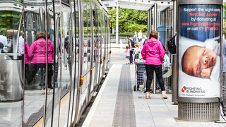 Busáras Luas Tram Stop And Some Trams [Red line Service]-140291
