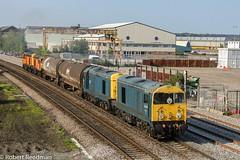 20096 6X08 (47843 Vulcan) Tags: 20096 20107 20311 20314 6x08chaddesdentobanbury br blue class20 hnrc gbrf derby englishelectric