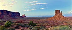 Monument at sunset. (attilio001) Tags: usa monumentvalley sunset