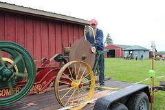 Newfane 066 (29) (swi66) Tags: dunkirk hit miss motors diesel cannons farm tractor john deere antique historical