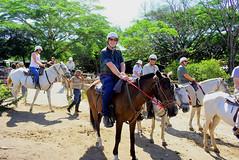 2018-050507E (bubbahop) Tags: 2018 guanacaste canasdulces costarica horse corral horseback riding friends bubbahop helmet
