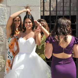 Wedding Beauty Bride's Hair Oaxaca Mexico