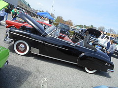 1949 Chevy Styleline Deluxe Convertible (splattergraphics) Tags: 1949 chevy styleline convertible carshow marylandhighrollers bowiemd