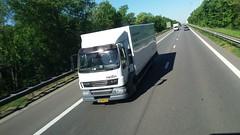 DAF LF E5 55.250 FA - Nedlin BV Elsloo, Nederland (Celik Pictures) Tags: spotted e314 belgië nederland autobahn snelweg autosnelweg highway freeway transport in action going to gaiazoo kerkrade beringen nedlin bv elsloo