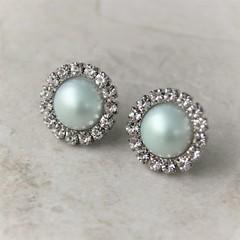 Mint Green Earrings, Mint Earrings, Stud Earrings, Mint Bridesmaid Earrings, Pale Mint Wedding Jewelry, Mint Green Wedding https://t.co/wOJewrMcZp #gifts #jewelry #bridesmaid #earrings #weddings https://t.co/hF96Y44Sd3 (petalperceptions.etsy.com) Tags: etsy gift shop fashion jewelry cute