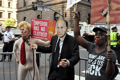 clothes (greenelent) Tags: notrump protest demonstration riseandresist streets people activists nyc newyork