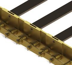 Corrente esteira especial (Andre M. Oliveira) Tags: c correntes corrente especial esteira pino oco industrial engenharia transportadora