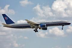 N536UA United Airlines 757-222 at KCLE (GeorgeM757) Tags: united 757222 n536ua 757 boeing kcle georgem757 aircraft alltypesoftransport aviation canon
