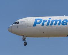 Boeing 767-33A (Titanium Man) Tags: boeing767300 boeing76733a boeing 767 767300 76733a amazonprimeair primeair amazon atlasair n1997a amazonone