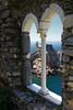 Attraverso un'antica finestra (Gina.Di) Tags: portovenere liguria mare italia chiesa panorama golfodeipoeti laspezia