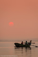 The canoe of life.... (Moving Iris) Tags: sunset sunlight fishermen fishing water waterscape landscape silhouette nikkor200500 nikkor200500vr nikon nikkor nikond500