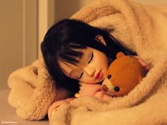 Yasmin ♥ (♥ MarildaHungria ♥) Tags: yasmin bjd msd unoa lusis sist unoalusis unoasist sleep sleeping teddy plush kawaii love lovely
