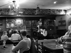 Saturday Night Fever (hurlham) Tags: pub guitarist monknash