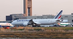 Air France, F-HRBF, 2018 Boeing B787-9 Dreamliner, MSN 42488, LN 687 (Gene Delaney) Tags: airfrance fhrbf 2018boeingb7879dreamliner msn42488 ln687