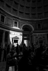 Spot of Light (Lars Ørstavik) Tags: spot pantheon rome italy building temple god gods architecture hadrian emperor light spotoflight