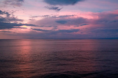 Sunset at Sea (Jill Clardy) Tags: 2018 cruise ncl norwegiancruiselines repositioning 201804179l8a2571 sunset water ocean sea clouds pink purple dusk seaday costa rica central america atsea lavender pacific 365the2018edition 3652018 day107365 17apr18