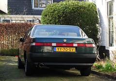 1990 Alfa Romeo 164 3.0 V6 (rvandermaar) Tags: 1990 alfa romeo 164 30 v6 alfa164 alfaromeo alfaromeo164 sidecode4 yy70sv rvdm