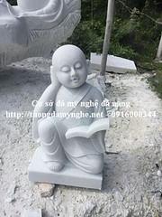 Tượng chú tiểu bằng đá non nước đà nẵng (dieukhacdadanang) Tags: tượng chú tiểu bằng đá tam không đà nẵng non nước giá mua đặt sân chùa cơ sở điêu khắc đẹp