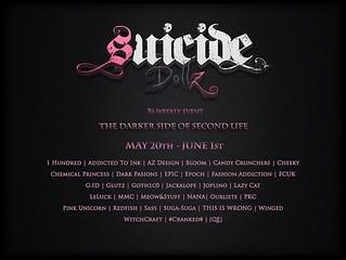 Suicide Dollz May 20 - June 1, 2018