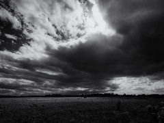 Culloden 10 (Feldore) Tags: inverness culloden battle battlefield ominous clouds moody landscape scotland scottish war warfare grave burial feldore mchugh em1 olympus 1240mm sky sunlight jacobite