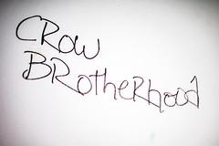 Crow Brotherhood (Thomas Hawk) Tags: america california cossonhall crowbrotherhood sf sagehall sanfrancisco starburst ti treasureisland usa unitedstates unitedstatesofamerica abandoned barracks decay graffiti