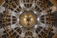 Aachen Cathedral (Till2310) Tags: dom aachen aixlachapelle kirche church cathedral ceiling decke nachoben hdr uww uwa weitwinkel 1635mm 5diii nordrheinwestafalen architektur achitecture raum space