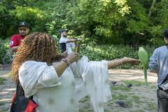 DSC_2208 (photographer695) Tags: wintrade rest recreation hyde park london feeding parakeet birds with nicole ross
