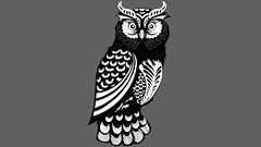 OWL 1 (mh585524) Tags: owl vector tracing drawing graphic design graphics art draw