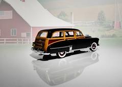 1949 Oldsmobile Futuramic 88 Station Wagon - The Danbury Mint 1:24 (BlueAtlantic38) Tags: 1949 oldsmobile wagon woody futuramic 88 gm usa americancar scalemodel 124 hobby thedanburymint v8