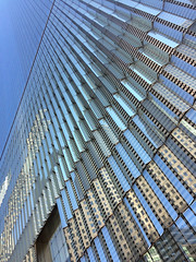 glass reflections (zubinkumar) Tags: nyc glass blue building architecture symmetry experimental structure newyork skyscraper lines geometric sky minimalism abstract