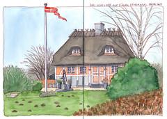 Haus auf Fünen 1 (KatrinMerle) Tags: katrinmerle dänemark fünen haus house fachwerkhaus