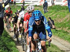 DSCN3869 (Ronan Caroff) Tags: cycling cyclisme ciclismo cyclist cycliste cyclists velo bike course race trobroleon coupedefrance france bretagne breizh brittany 29 finistère lannilis ribin ribinou dust mud poussiere boue men man sport sports avril april
