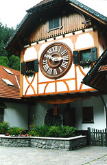 Germany.  July 21st.-26th. 2003 (Cynthia of Harborough) Tags: 2003 architecture art clocks cuckooclocks