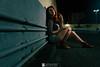 Alexander Oliveira Fotógrafo (AlexanderOliveira-NaturezaInterior) Tags: aco alexanderoliveira ensaio linhas natália spínola ruiva retrato mulher woman bonita sensual santacruz errejota estacionamento