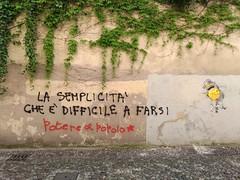 semplice una cippa! (g_u) Tags: gu ugo padova muro graffiti scritte poterealpopolo