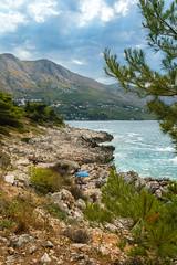Cavtat, Croatia (mandyhedley) Tags: croatia holiday landscape canon7dii palmtrees kupari bombing war seascape rockscape mlini dubrovnik coast coastline