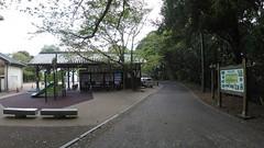 Rest area vS (Hazbones) Tags: iwakuni yamaguchi yokoyama castle kikkawa suo chugoku mori honmaru ninomaru demaru wall armor samurai spear teppo gun matchlock map ropeway