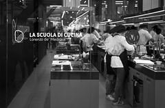 La Scuola Di Cucina (Sam_samy) Tags: school cooking scuola cucina italy florence kitchen cookers bw