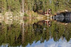как в зеркале (snd2312) Tags: finland suomi kouvola spring kevät vappu