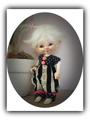 Jozee enjoying a sunny Sunday (Jonquil O) Tags: real puki pupu bjd fairyland